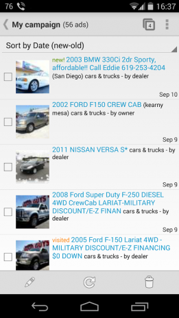 Search Craigslist with cubiX 2 32 Download APK for Android