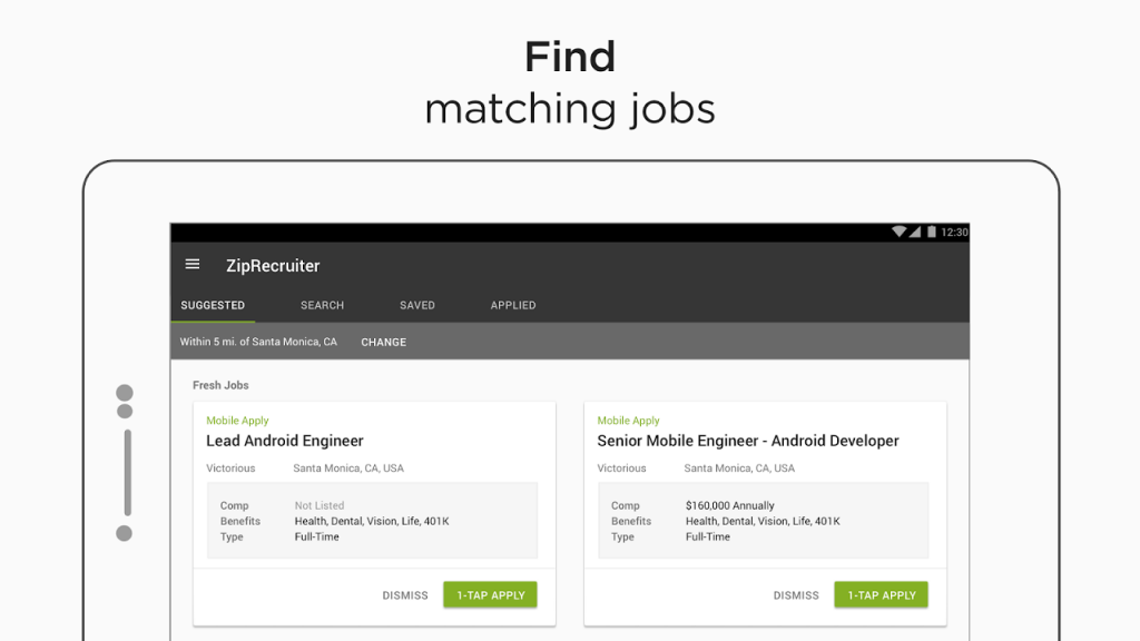Job Search by ZipRecruiter   Download APK for Android