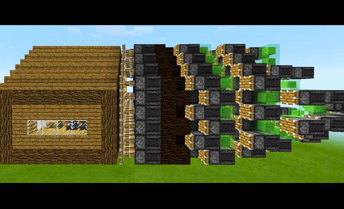 minecraft pe best redstone house download