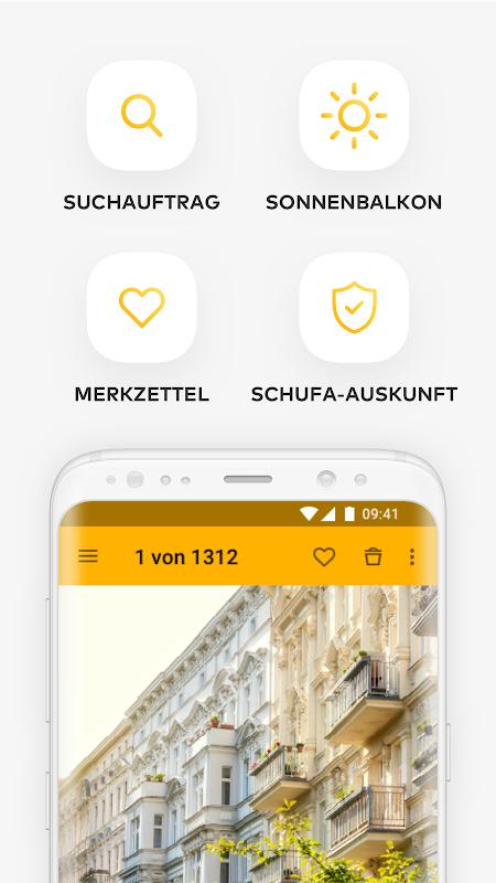 Immowelt - Immobilien, Wohnungen & Häuser screenshot 1