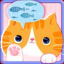 Cute Kitty Theme Pink Cartoon