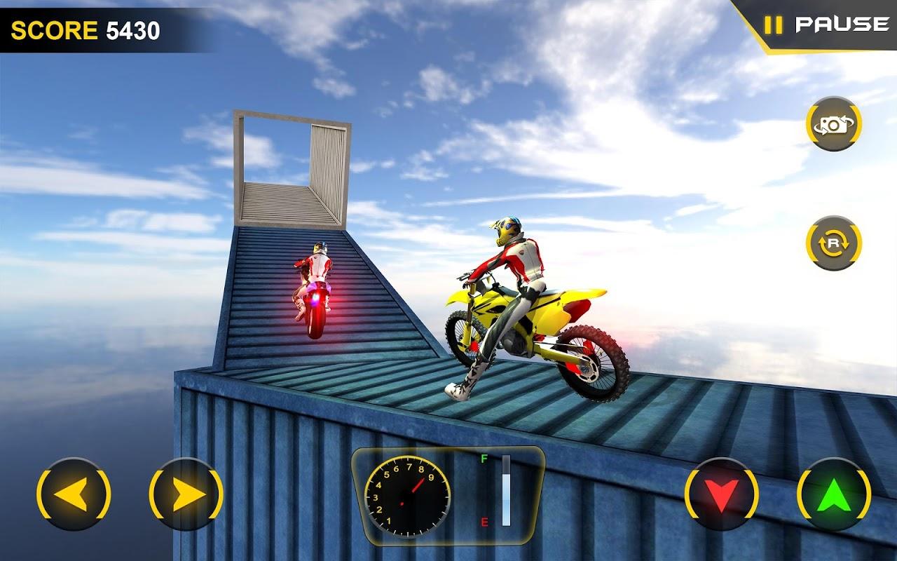 Stunt Bike Rider 3D - Mega Ramp Bike Driver Games screenshot 1