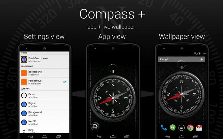 Compass Wallpaper Screenshot 7