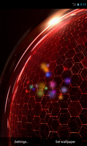 htc droid dna live wallpaper screenshot 1 ...