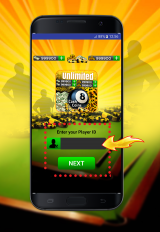 coins and cash for 8 ball pool prank screenshot 2