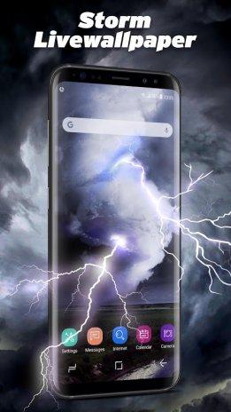 Thunder Storm Lightning Live Wallpaper 2202360 Download