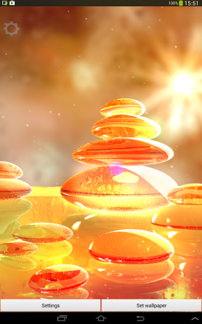 Fire Zen Stones Live Wallpaper 104 Descargar Apk Para