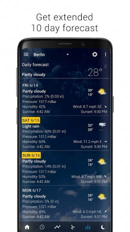 Transparent clock weather (Ad-free) 3 10 05 Download APK for Android