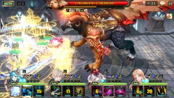 King's Raid Screen