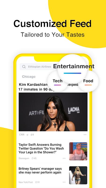 TopBuzz News: Breaking, Local, Entertaining & FREE screenshot 1