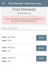 pool rewards daily free coins screenshot 1
