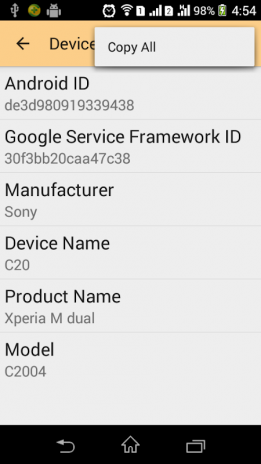 Device ID Changer for android 4 4 Download APK for Android
