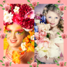 Flowers Photo Collage Icon