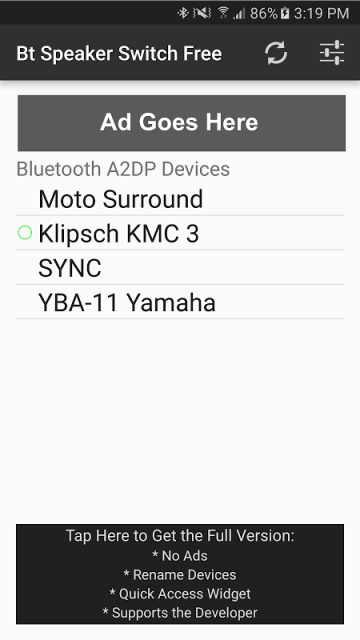 how to use a2dp on android