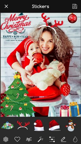 christmas photo editor stickers collage maker 1 5 download apk