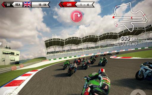 SBK15 Official Mobile Game screenshot 3