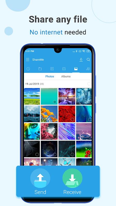 Compartilhe e Transfira Arquivos - Mi Drop screenshot 1