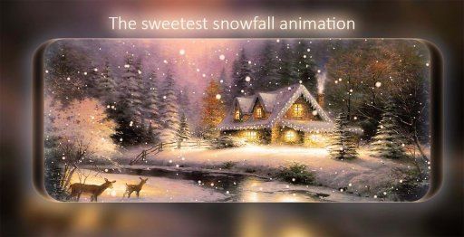 Snowfall Live Wallpaper screenshot 10