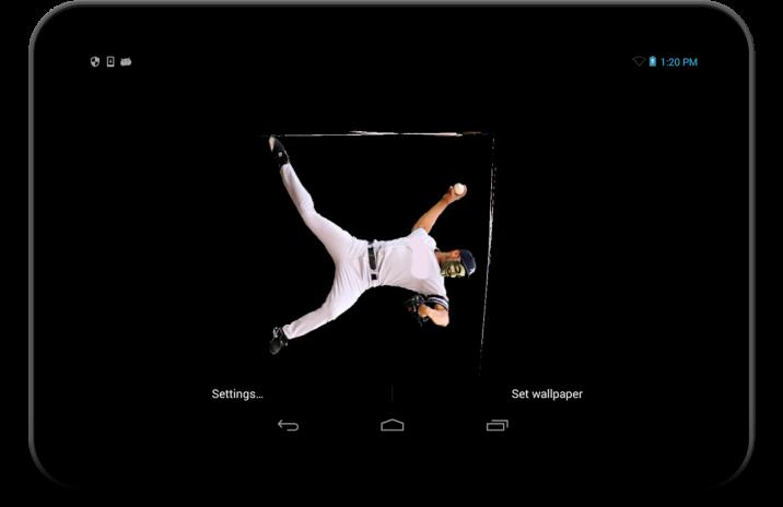 Baseball Live Wallpaper Screenshot 4
