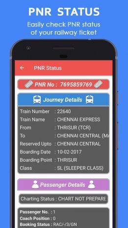 Indian Railways Info - Train Running Status Live 2 1 1