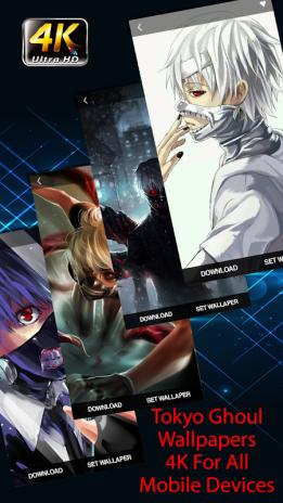 Tokyo Ghoul Wallpapers Hd 4k 10120022018 Descargar Apk