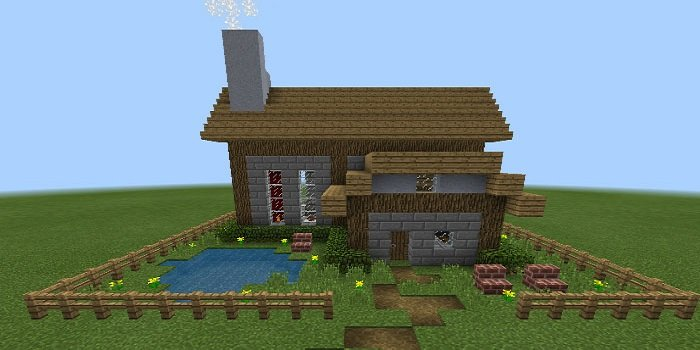 Customizable Command Block House for Minecraft 1 0 Download