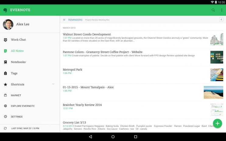 Evernote Organizer Planer Für Notizen Memos 8 12 Beta1