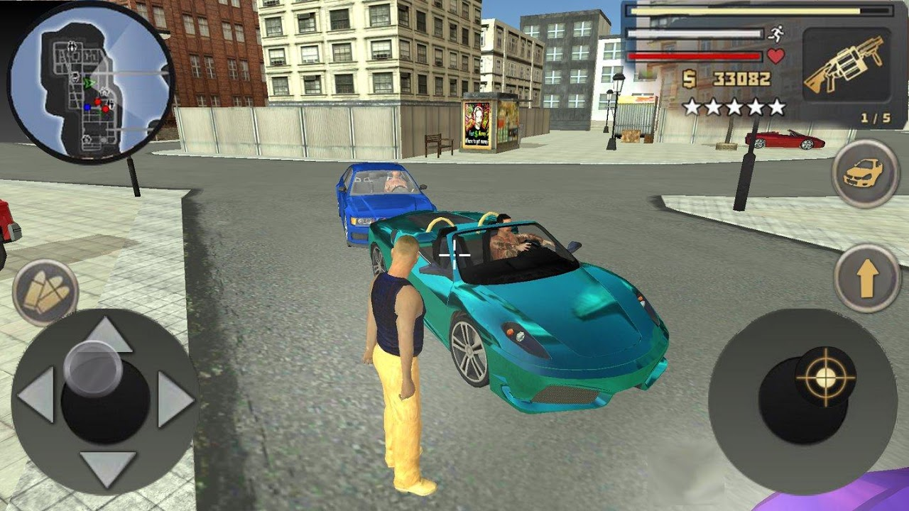 Grand Mafia Crime San Andreas screenshot 1