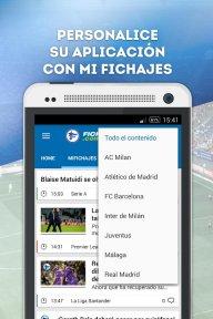 Fichajes fútbol: mercado, resultados, directo screenshot 2