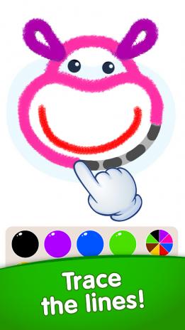çocuk Boyama Oyunları Okul öncesi Eğitici Oyunlar 1054 Android