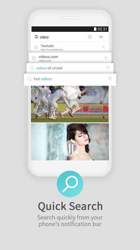 UC Browser Mini for Android Go screenshot 2