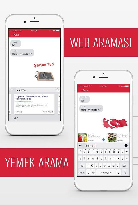 Tambu Keyboard screenshot 2