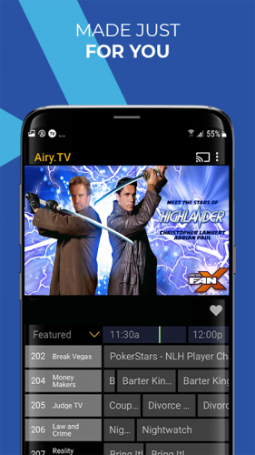 Airy Free Tv Movie Streaming App Forever 1 7 1gcr Download Android Apk Aptoide