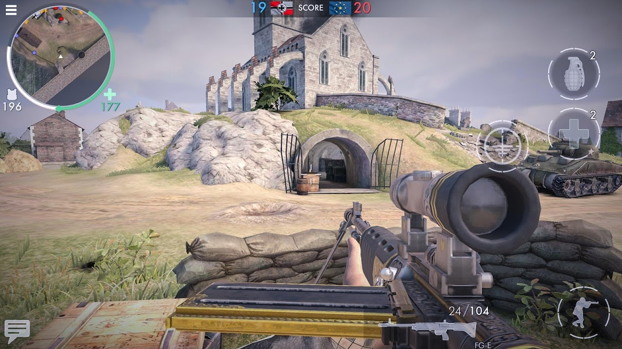World War Heroes: WW2 Jogo de tiro screenshot 2