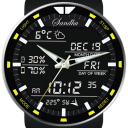 Dual 360-2 Watch Face for Wear