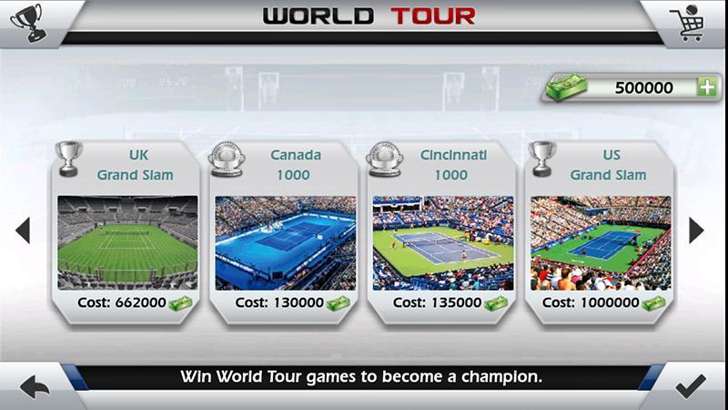 tennis chiquenaudé 3d