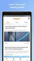 Scripbox – your friendly financial planner. Screen