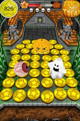 Coin Dozer Halloween description:
