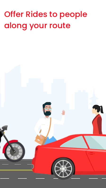 sRide - Office Ride, Carpool, Bikepool, Rideshare screenshot 1