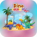 Dinosaur Games For Kids - Dino Coloring & Puzzle