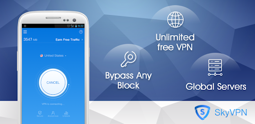 SkyVPN-Unlimited Free VPN Proxy protect privacy 1 6 33