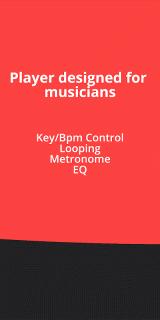 BACKTRACKIT: Musicians' Player screenshot 4