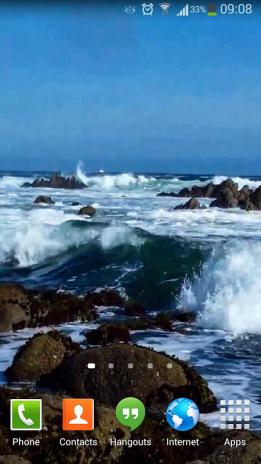 Ocean Waves Live Wallpaper Hd 59 Screenshot 2