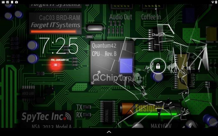 Cracked Screen Gyro 3d Parallax Wallpaper Hd Screenshot 10