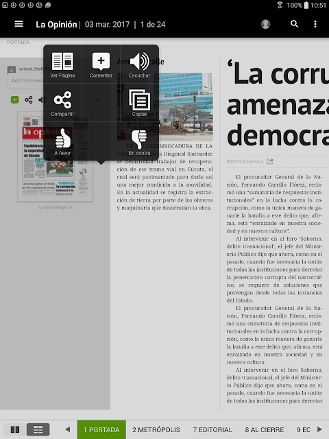 La Opinión Cúcuta screenshot 2