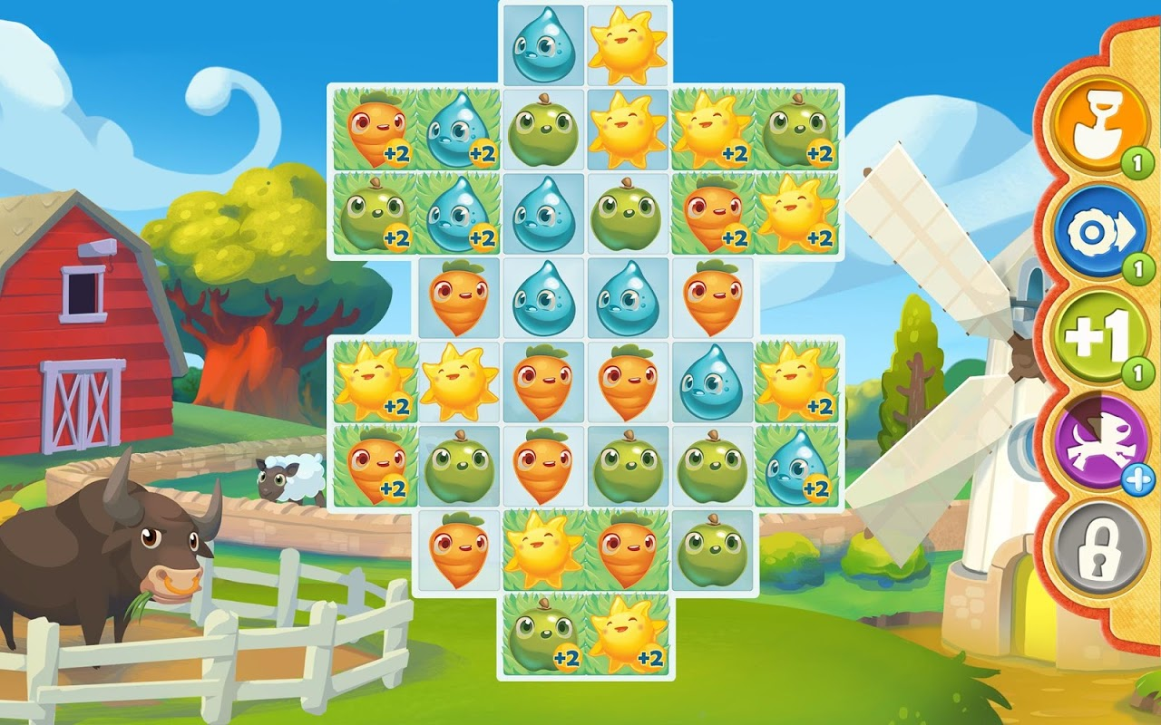 Farm Heroes Saga screenshot 2
