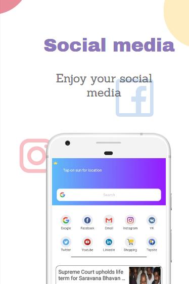 Indi Browser screenshot 1