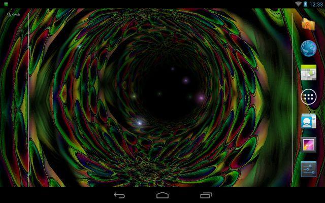 Trippy Tunnel Live Wallpaper Screenshot 1