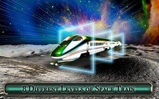 Galaxy space train simulation:bullet train Screen
