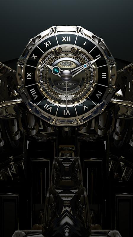 KOMPONIST Luxury Clock Widget screenshot 2